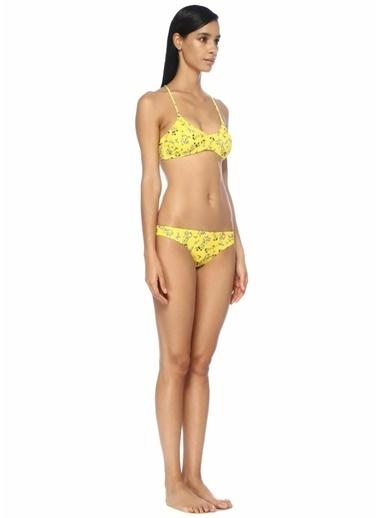 Norr Bikini Üst Sarı